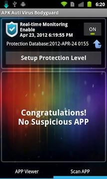 APK 防毒防护保镳