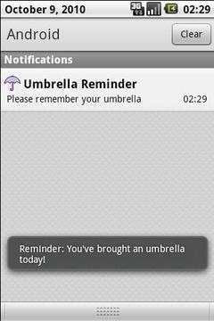 我带了伞子! (My Umbrella!)