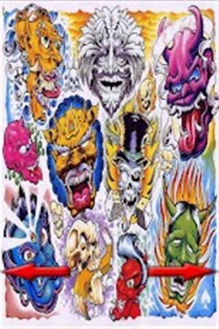 部落纹身,动物纹身,天使,头骨,中国和日本的纹身人体艺术,龙纹身,蛇