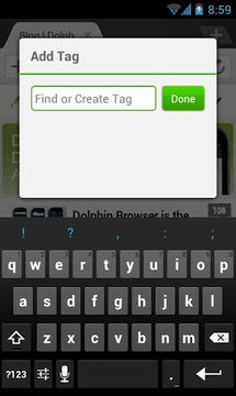Dolphin: Evernote Add-on