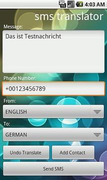 SMS Translator Lite