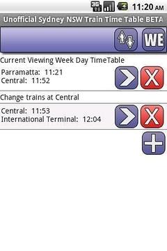 悉尼时间表试用版