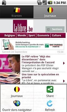 Kranten BE (België nieuws)