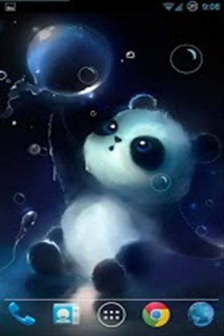 泡泡熊猫动态壁纸下载