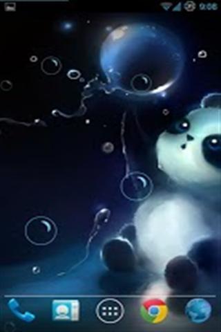 泡泡熊猫动态壁纸