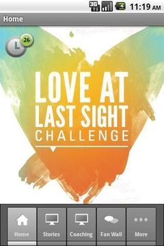 Love at Last Sight Challenge