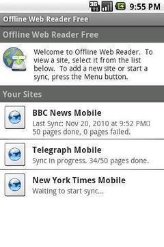 离线网页阅读器