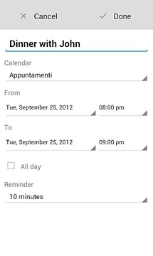 Voice Calendar Trial