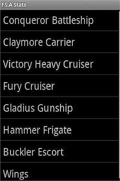 Firestorm Armada Stat