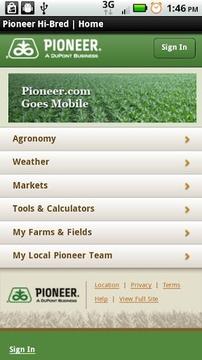 Mobile Pioneer.com