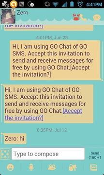 ZRomantic GO SMS Theme