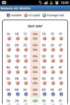 巴达维亚航空移动预约 Batavia Air Mobile Reservation