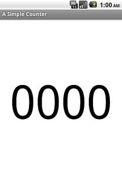 简单计数器