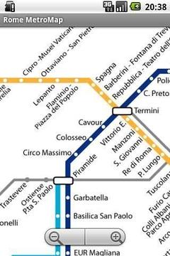 罗马地铁地图