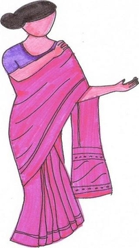 How To Tie A Sari