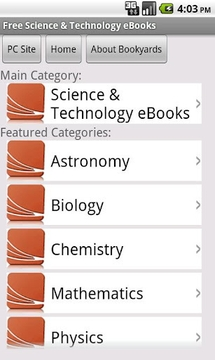 Science eBooks