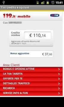 Tim credito e servizi