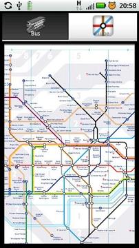 伦敦旅游观光地图