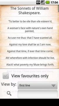 莎士比亚十四行诗免费