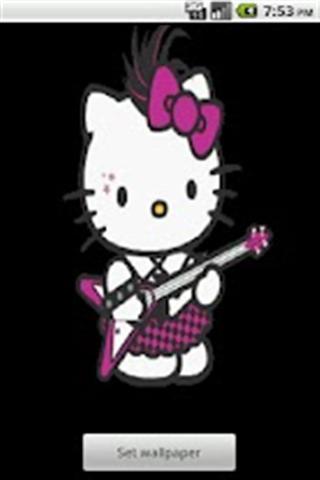摇滚凯蒂猫壁纸下载|摇滚凯蒂猫壁纸手机版_最新摇滚
