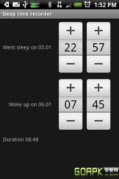 自动睡眠日志