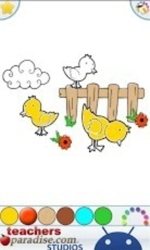 農場動物彩圖