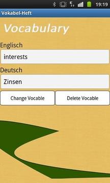 Vocabularybook