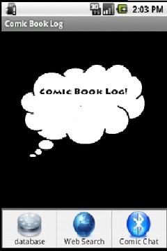 Comic Book Log