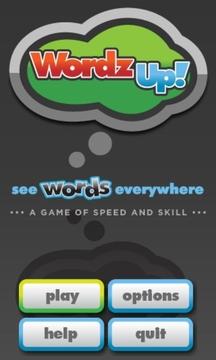 WordzUp!拼字游戏