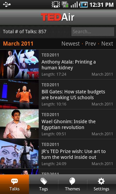 空中TED TED Air