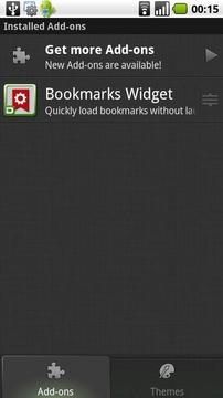 Bookmarks Widget
