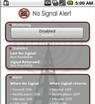 信号变化报警器No Signal Alert