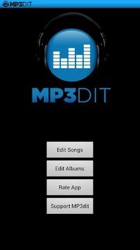 MP3标签编辑器 MP3dit