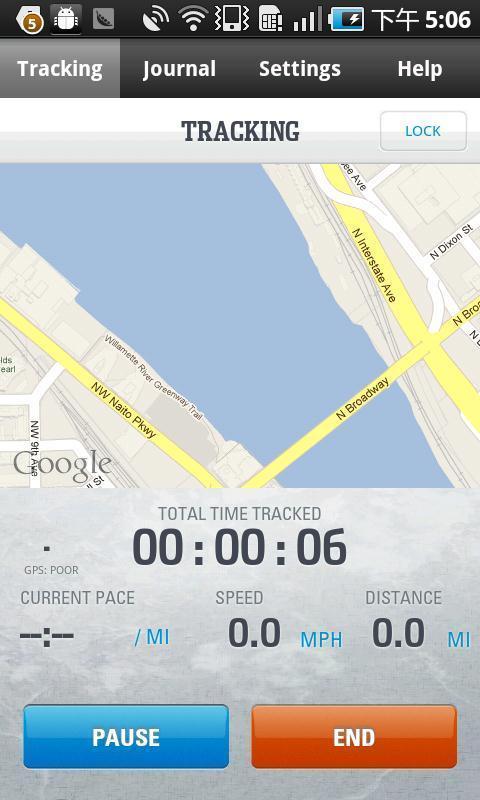 野外追踪 Columbias GPS PAL