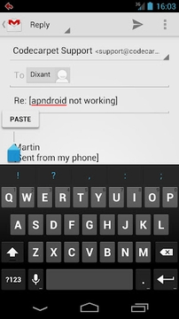 Gmail自动回复