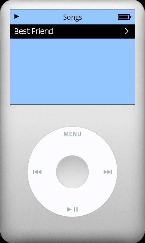 仿iPod音乐播放器