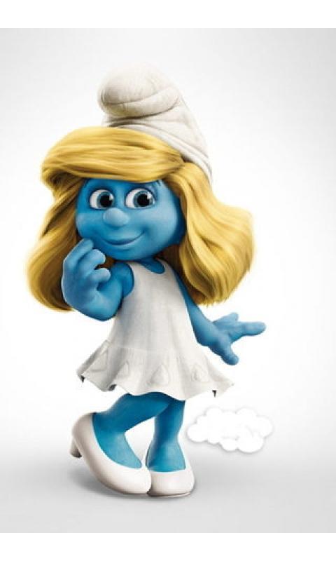 超可爱蓝精灵壁纸