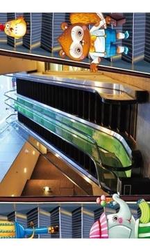 安全乘坐自动扶梯