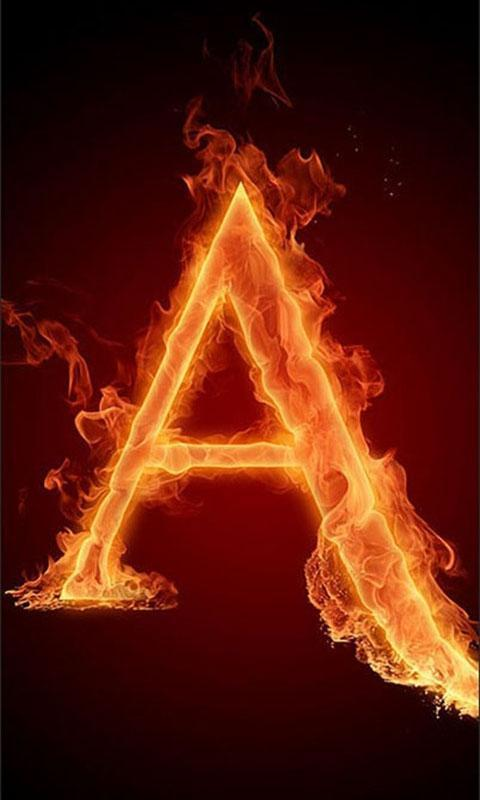 超酷的火焰字母下载