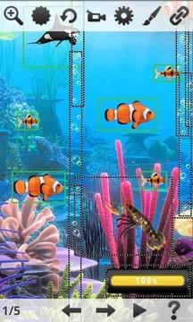 水族馆海葵动态壁纸