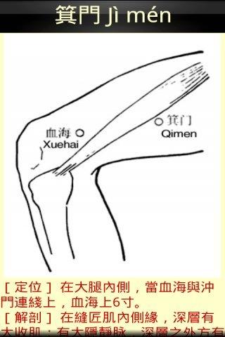 经脉穴位图