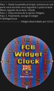 FCB时钟挂件