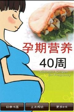 孕期营养40天