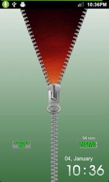 拉链-魔力锁屏