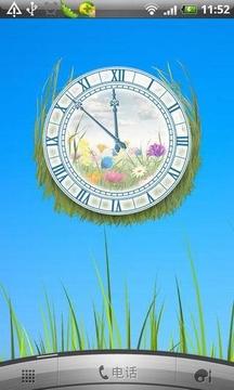 永恒夏天鲜花时钟