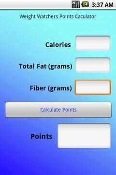 食物营养计算器