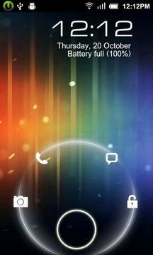 魔力锁屏-android4.0主题