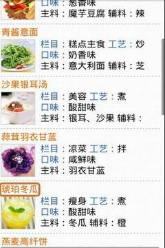 瘦身健康食谱