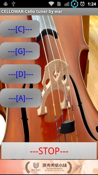 调谐大提琴音