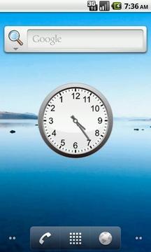 逆时针时钟